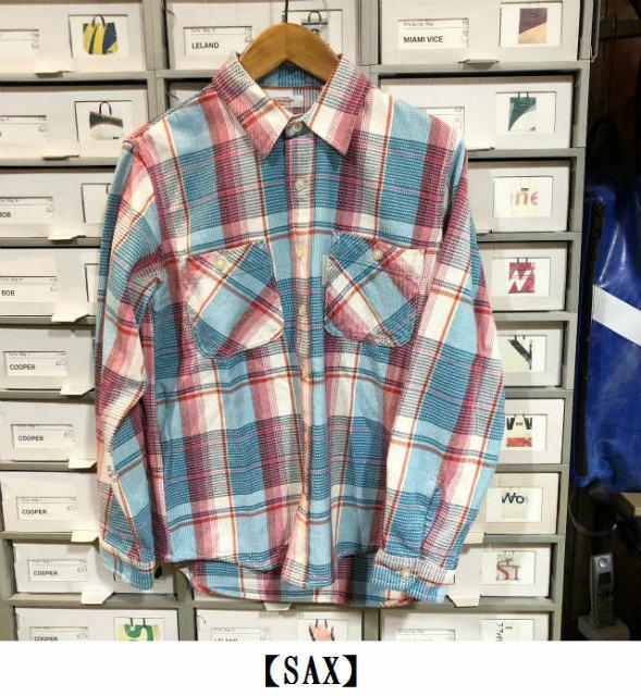 ★スプリングネルチェック ワークシャツ ★_e0084716_15163532.jpg