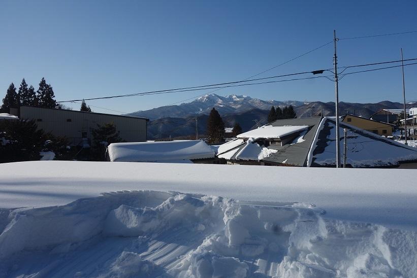 雪下ろし_e0112417_22493197.jpg