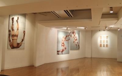 セッションハウスのクロッキー会で生まれた作品群を展示、下条幸子展開催中!_d0178431_03110532.jpg