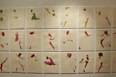 セッションハウスのクロッキー会で生まれた作品群を展示、下条幸子展開催中!_d0178431_03244318.jpg
