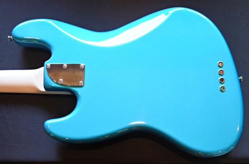 「Blue Turquoise MetallicのStandard-J」1本目が完成!_e0053731_17333623.jpg