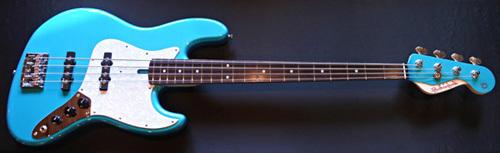 「Blue Turquoise MetallicのStandard-J」1本目が完成!_e0053731_17334633.jpg