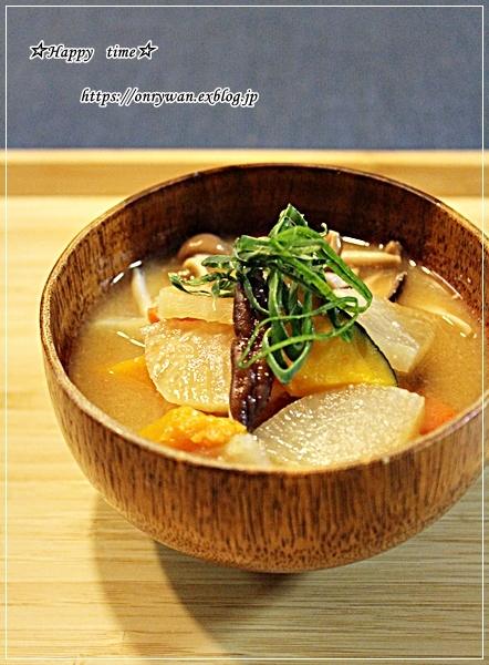 干し野菜味噌汁・☆部活動♪_f0348032_18292734.jpg