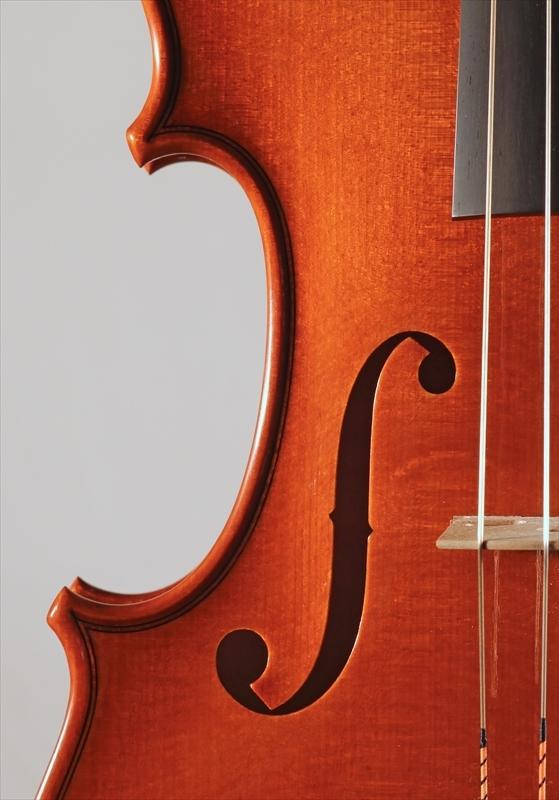 2015年 ヴァイオリン ストラド1705モデル トリエンナーレ参加作品_a0197551_14342687.jpg