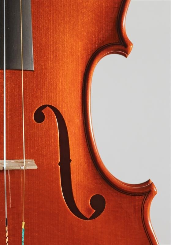 2015年 ヴァイオリン ストラド1705モデル トリエンナーレ参加作品_a0197551_14343932.jpg