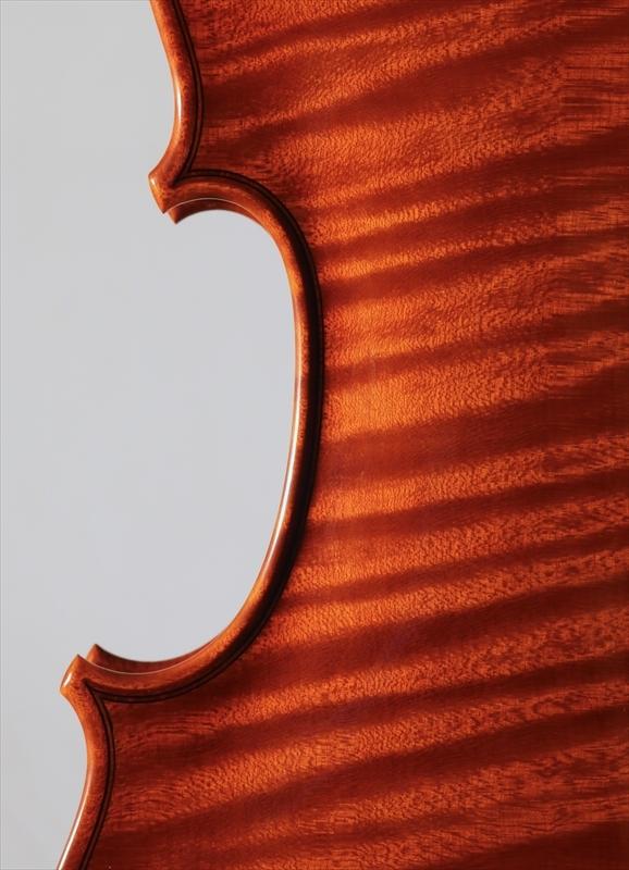 2015年 ヴァイオリン ストラド1705モデル トリエンナーレ参加作品_a0197551_14351108.jpg