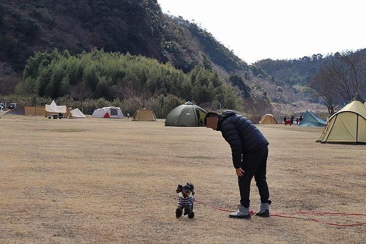 桃太郎公園キャンプ場。_b0111376_14101134.jpg
