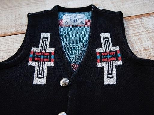 "JELADOより\""Santa Fe Vest \""新色のご紹介です!!_d0160378_21020629.jpg"