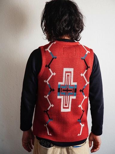"JELADOより\""Santa Fe Vest \""新色のご紹介です!!_d0160378_21060244.jpg"