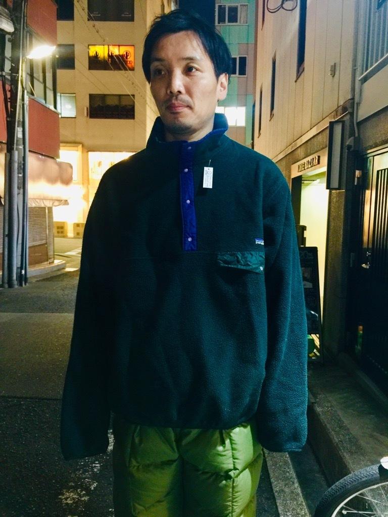 マグネッツ神戸店 2/2(土)Superior入荷! #3 Patagonia Fleece Item!!!_c0078587_19025654.jpg