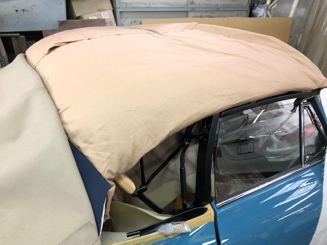 New Soft Top  Cabriolet   /  ポルシェ356・スーパー90  幌のその後・・・・・・・・_b0195093_13553379.jpg