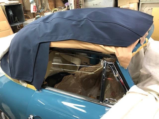 New Soft Top  Cabriolet   /  ポルシェ356・スーパー90  幌のその後・・・・・・・・_b0195093_13554819.jpg