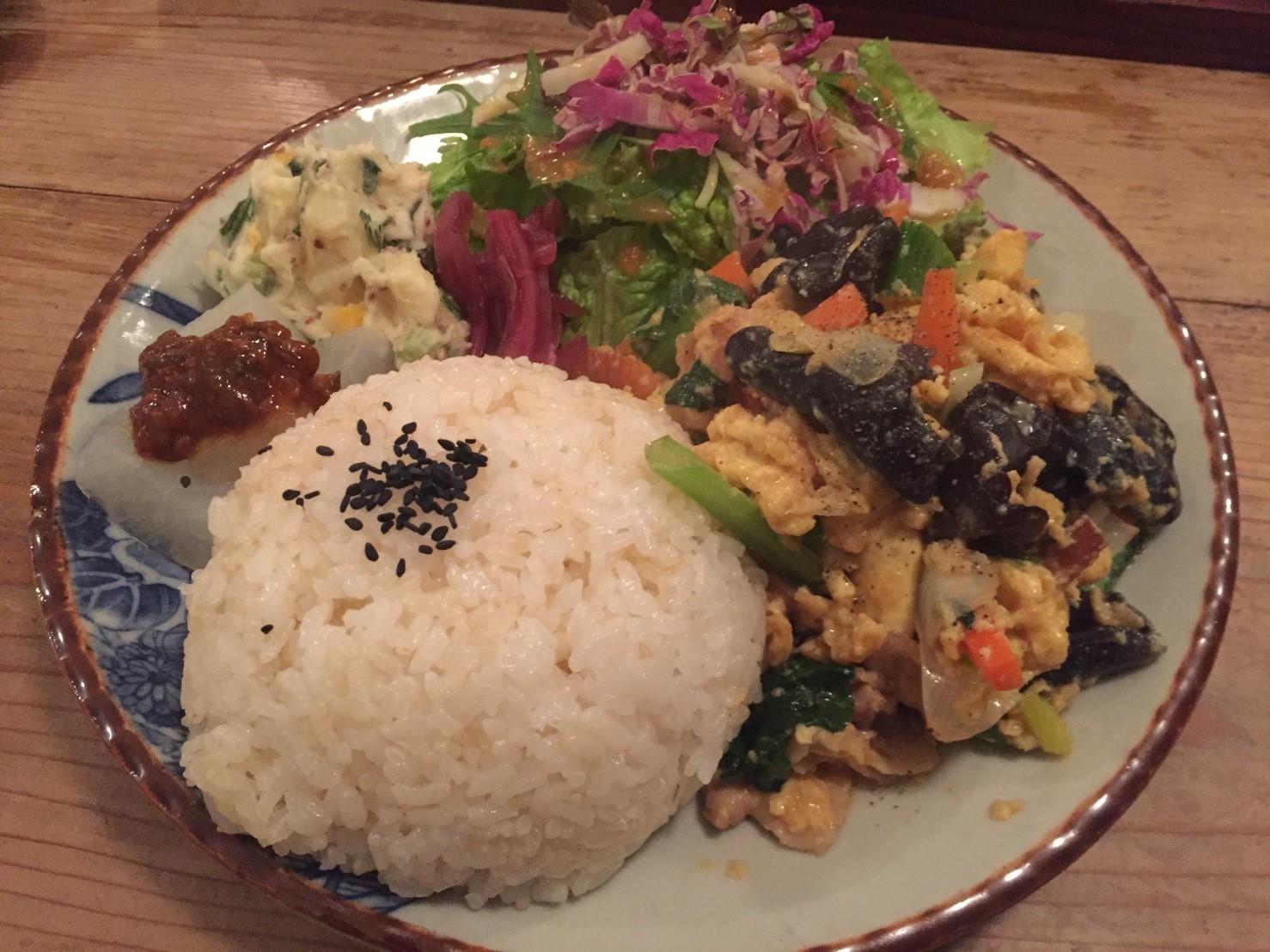 TAO CAFE にて夕食_e0115904_02531809.jpg