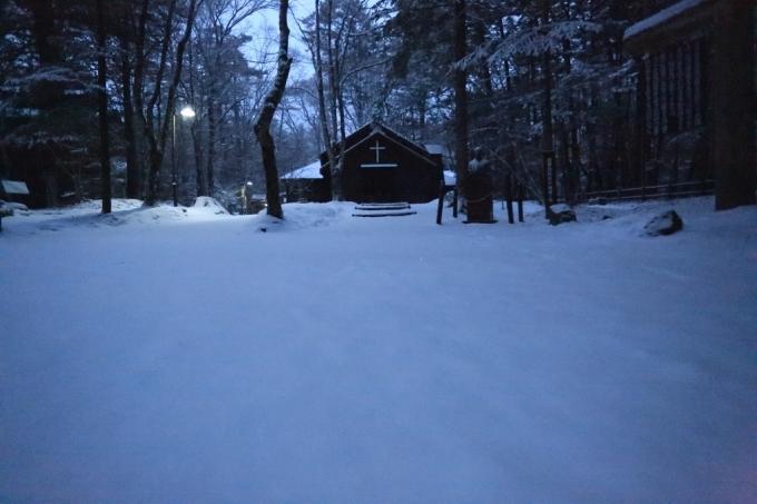 夕方から雪_f0091207_18242338.jpg