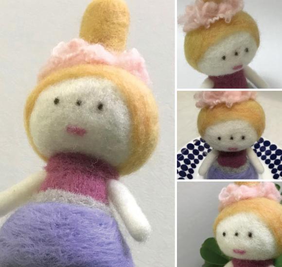 フェルト人形、また作りました。_d0225610_21285007.jpg
