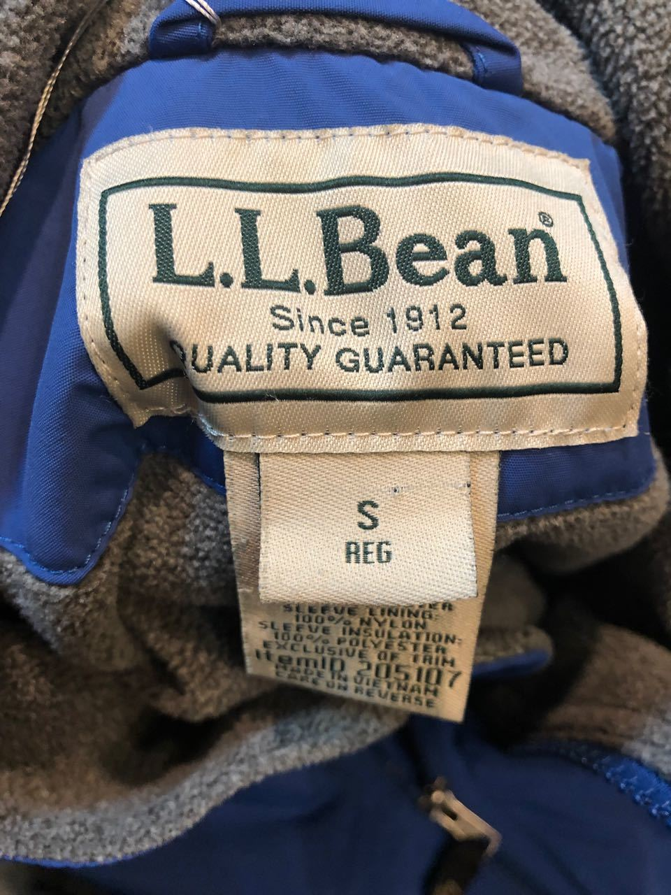 L.L Bean WARM UP JACKET ウォーム アップジャケット_c0144020_13463542.jpg