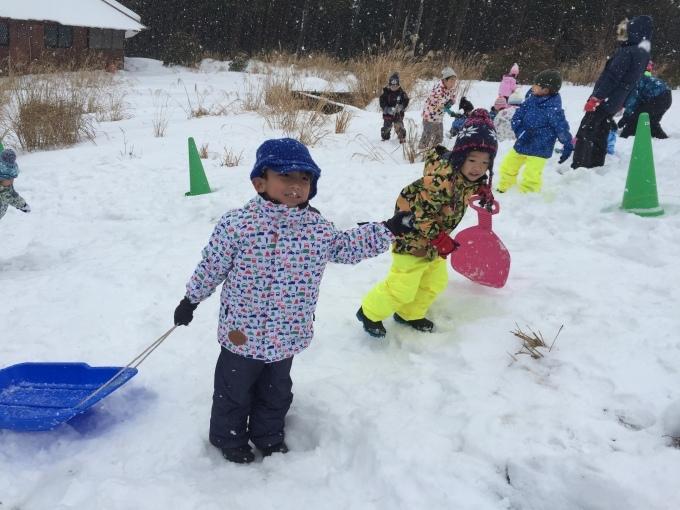 4.5歳児 〜雪遊び〜_b0117125_17015907.jpeg