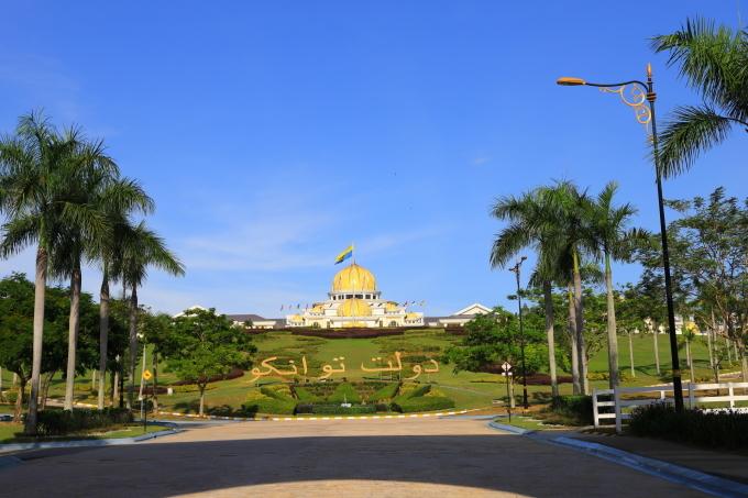 【マレーシア王宮 ISTANA NEGARA】マレーシア旅行 - 10 -_f0348831_23084846.jpg