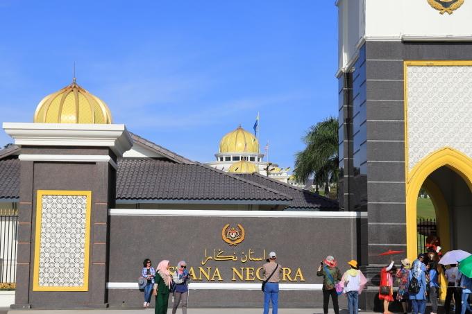 【マレーシア王宮 ISTANA NEGARA】マレーシア旅行 - 10 -_f0348831_23093900.jpg