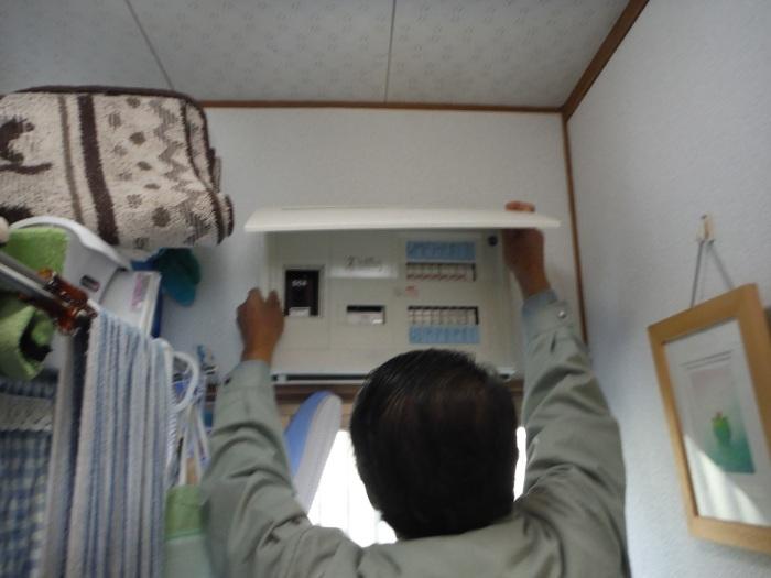 小工事 ~浴室の換気扇を暖房機へ取替え取付_d0165368_05082963.jpg