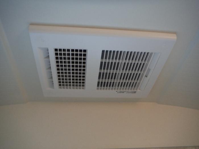 小工事 ~浴室の換気扇を暖房機へ取替え取付_d0165368_05085516.jpg