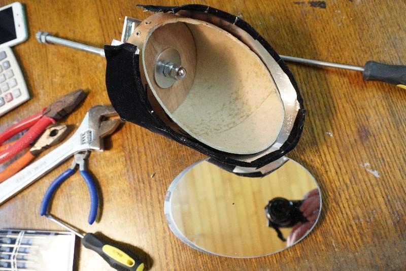 60cmドブソニアン自作記(205) 斜鏡を元に戻してみる_a0095470_21203460.jpg