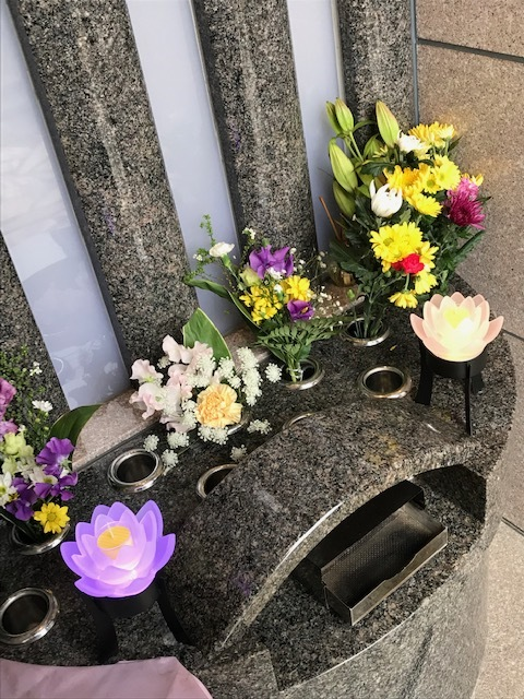 ☆合同供養祭開催のお知らせと蓮の花の灯篭☆_b0263390_14071531.jpg