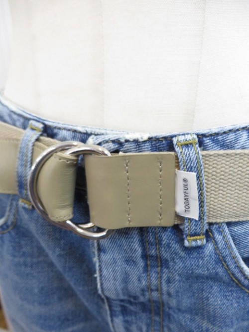 トゥデイフル TODAYFUL Reversible Belt ☆_e0076692_19583382.jpg