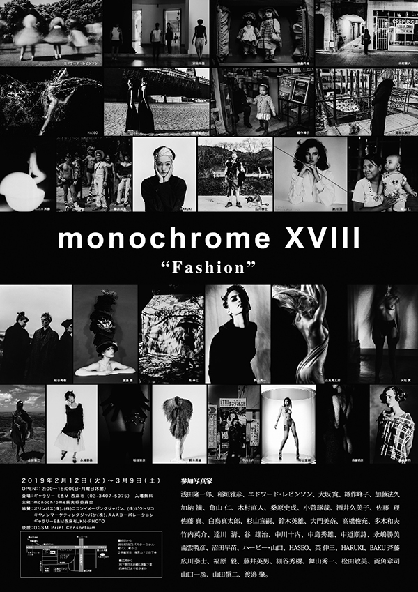 monochrome XVIII「Fashion」明日が最終日です!_b0194208_14022564.jpg