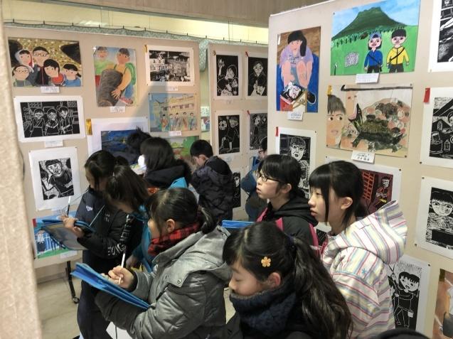今度は6年生が美術展の鑑賞_d0382316_14181472.jpeg