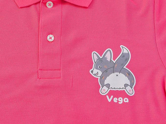 Vegaちゃん ポロシャツ_d0102523_2245655.jpg
