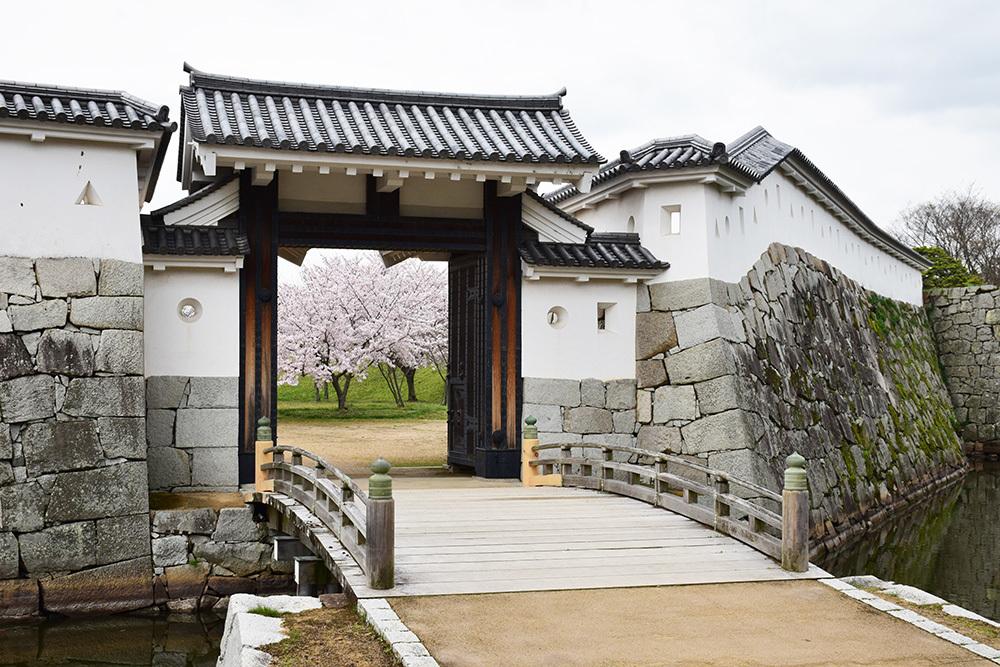 桜満開の赤穂城を歩く。 その4 「元禄桜苑」_e0158128_17433172.jpg