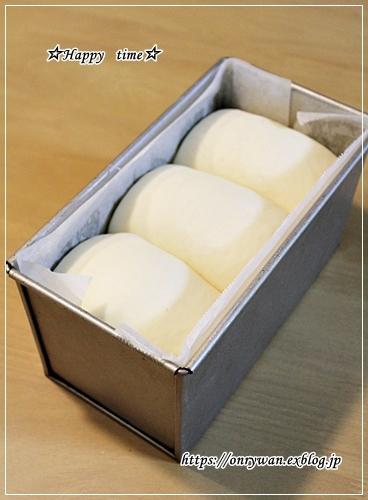 炊き込みおむすびチキンカツ弁当とパン焼きと♪_f0348032_17410153.jpg