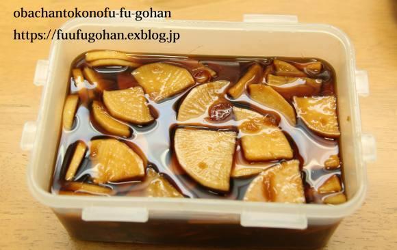 デコポンのシャーベット&大根1本使い切り常備菜&焼きそばどーん_c0326245_11250493.jpg