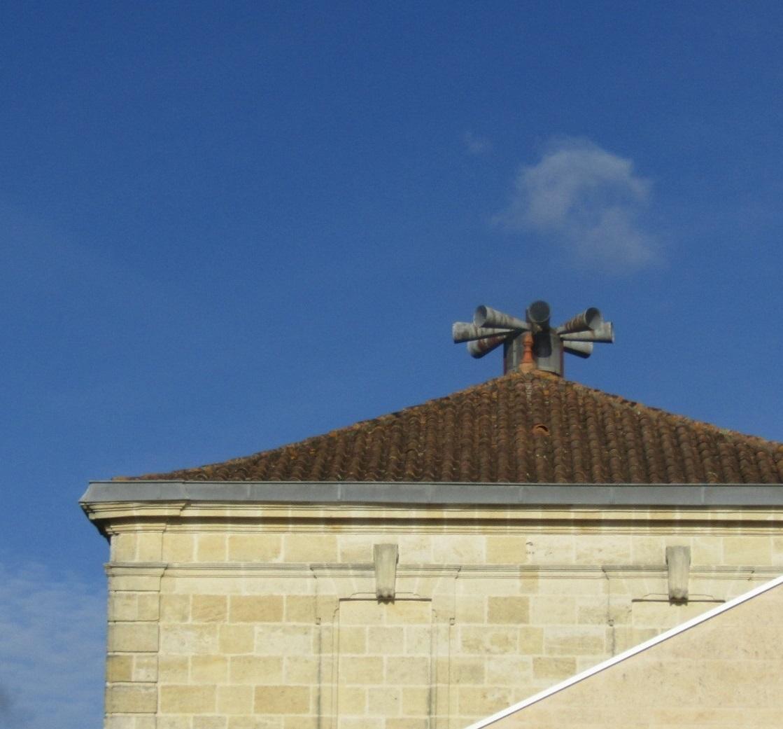 村役場の屋根に_b0287748_04345211.jpg