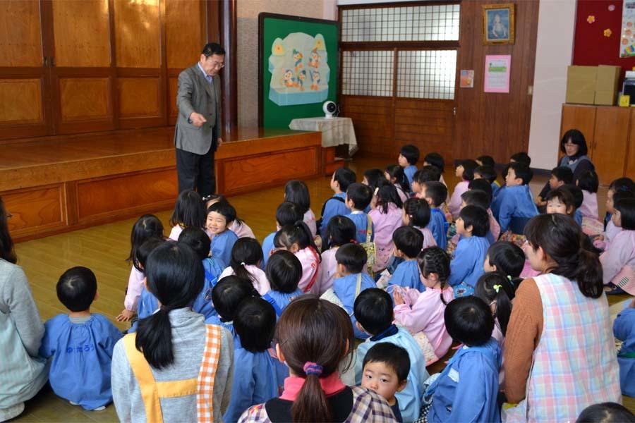 第一幼稚園 「豆まき」_d0353789_14110815.jpg