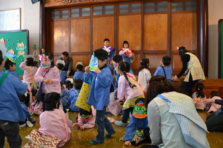 第一幼稚園 「豆まき」_d0353789_14113203.jpg