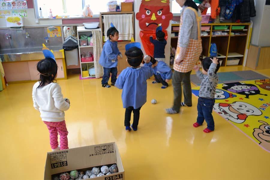 第一幼稚園 「豆まき」_d0353789_14113912.jpg