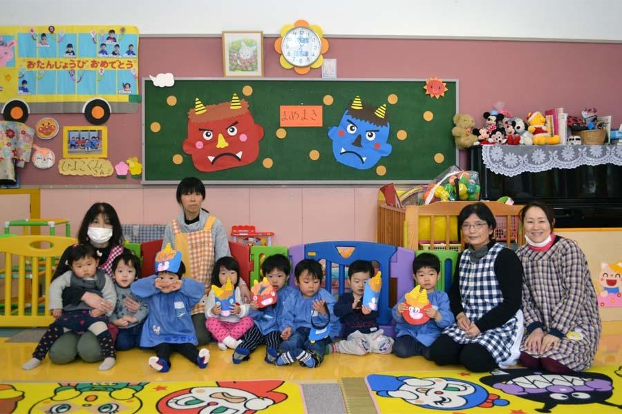 第一幼稚園 「豆まき」_d0353789_14144234.jpg