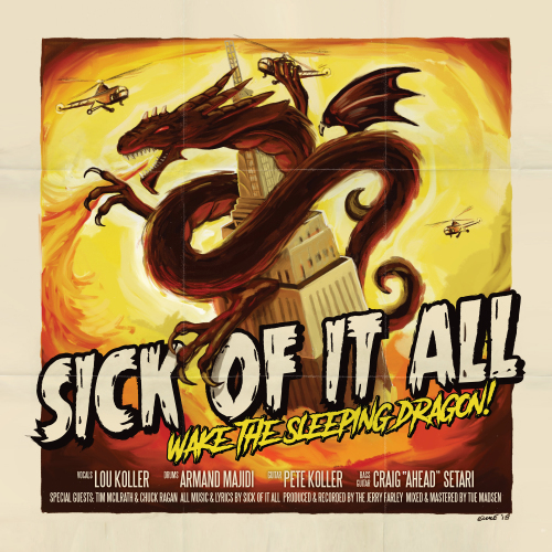 SICK OF IT ALL/Wake the Sleeping Dragon!_d0134311_17131169.jpg