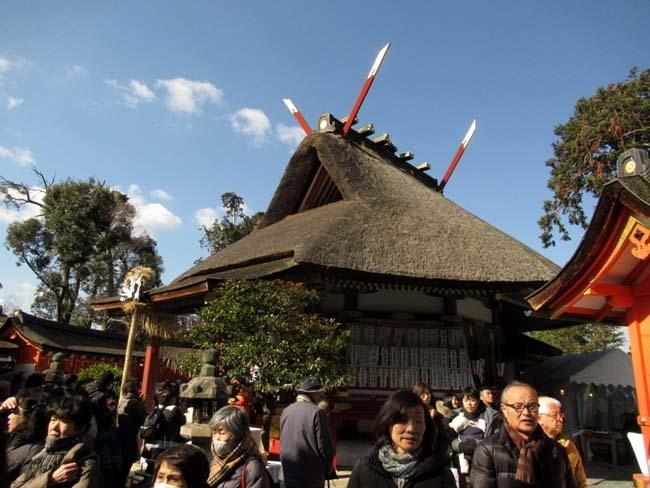 吉田神社 節分参り_e0048413_22284537.jpg