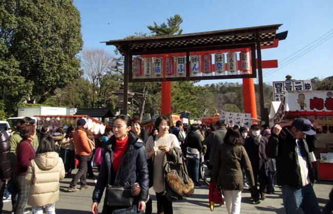 吉田神社 節分参り_e0048413_22292930.jpg