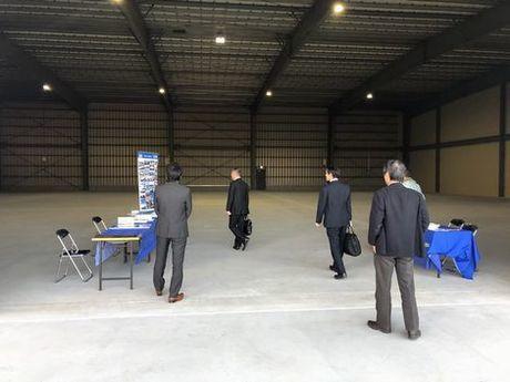 「新築倉庫」完成見学会を開催しました。_a0059217_09305163.jpg