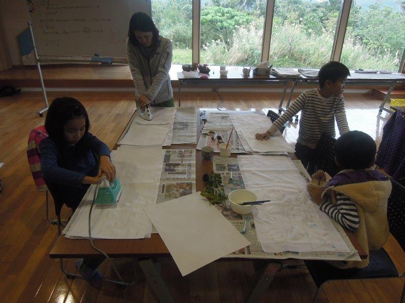 くんじゃん山学校~草木染め編~_f0121321_10145394.jpg