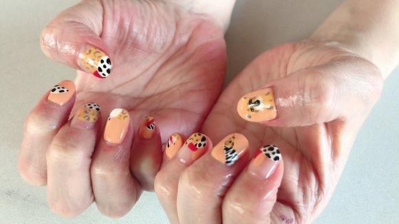Leopard Nails_a0239065_14093086.jpg