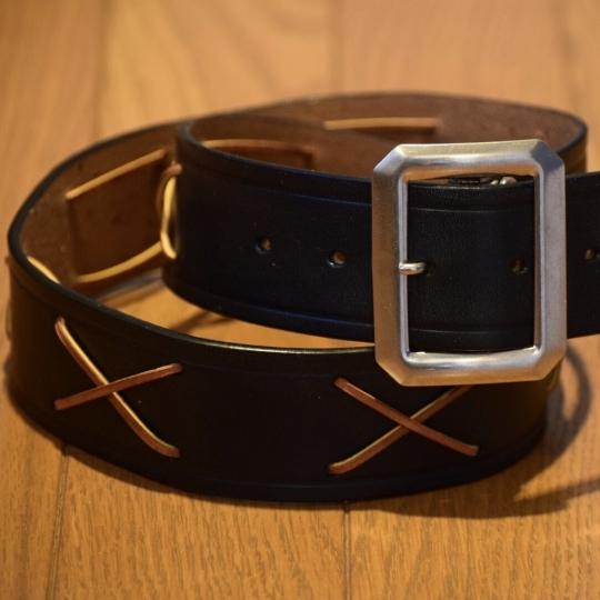 The GROOVIN HIGH X RAWHIDE Wild One Marlon Brand Vintage Style Belt A205_c0187684_21533107.jpg
