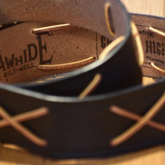 The GROOVIN HIGH X RAWHIDE Wild One Marlon Brand Vintage Style Belt A205_c0187684_21533893.jpg