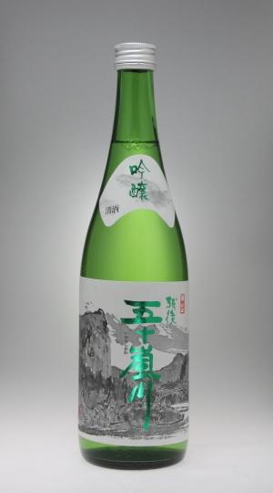 福顔 吟醸 越後五十嵐川[福顔酒造]_f0138598_02034397.jpg