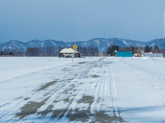 2月晴れて風の強い日・・村道を通ってピョウタンの滝へ_f0276498_23214041.jpg