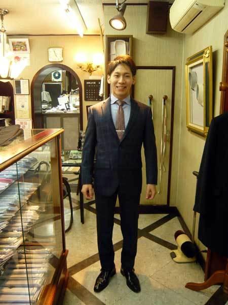 お客様のスーツ_a0110103_21322320.jpg